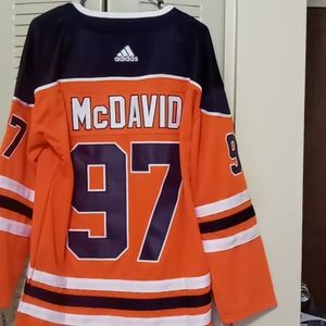NWT Connor McDavid's Oilers Jersey Size XL